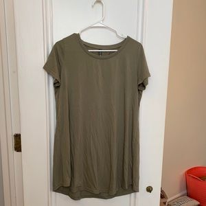 Cotton On Olive Green T-Shirt Dress